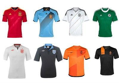 รวมเสื้อบอล16ทีมยูโร2012