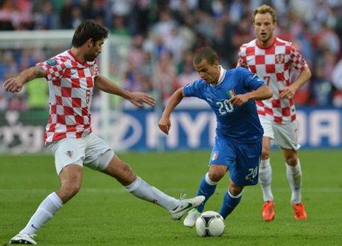 อิตาลีนำก่อนโดนโครแอตเจ๊าท้ายเกม1-1