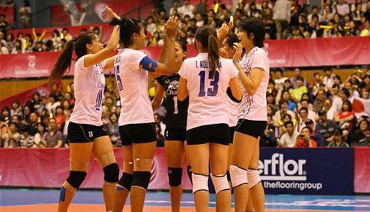 สุดมัน!สาวไทยตบเชือดญี่ปุ่นหวิว 3-2 เซต+คลิป