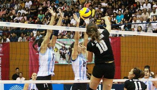 นักตบสาวไทยสอนเชิงอาร์เจนติน่า 3-0