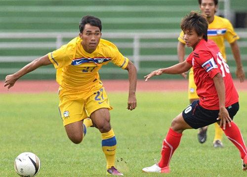 แข้งยู-22ชาติไทยคืนฟอร์มถล่มเขมร 4-0