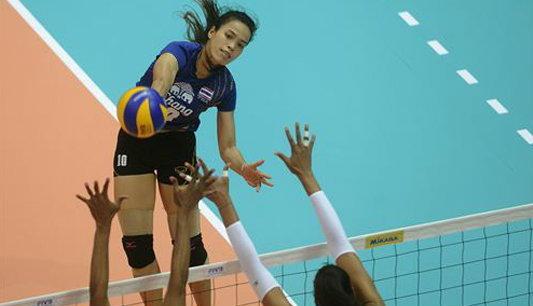 สาวไทยแพ้อเมริกาสุดมัน 1-3 เซต