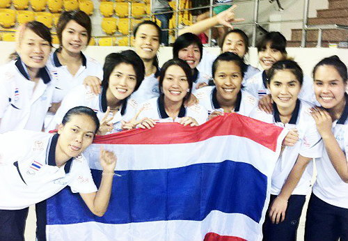 รวมภาพวอลเลย์บอลหญิงศึก เอวีซี เอเชี่ยน คัพ 2012