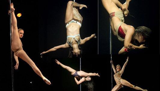 """""""Pole Dance"""" ลีลาน่ายล"""