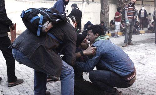 อียิปต์จราจลต้านคำตัดสินประหาร 21 จำเลยเหตุตะลุมบอนกลางแมตช์ฟุตบอลปี 2012