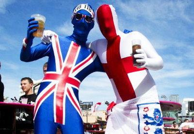คึกคัก!เก็บตกแฟนบอลอังกฤษ-ฝรั่งเศส