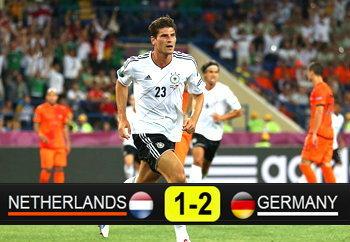 ประมวลภาพ ฮอลแลนด์ แพ้ เยอรมัน 1-2