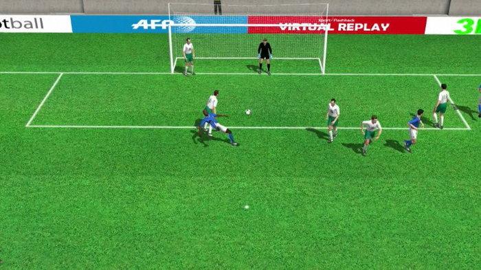 คลิป  อิตาลี นำ ไอร์แลนด์ 2-0