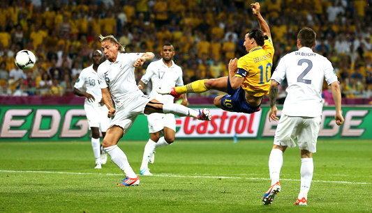 เก่งเมื่อสาย! สวีเดนอัดฝรั่งเศส2-0