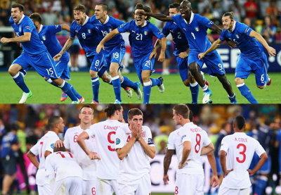 ประมวลภาพ อิตาลี ชนะจุดโทษ อังกฤษ 4-2