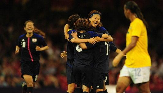 แข้งสาวญี่ปุ่นโชว์ทีเด็ดเขี่ยบราซิลร่วง