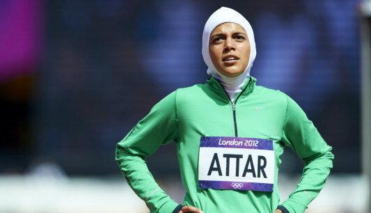 สาวซาอุฯ แข่งกรีฑาหญิงในโอลิมปิกเป็นคนแรกของชาติ