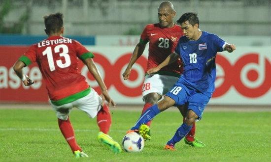 ดุจริง! ไทยยำอินโดนีเซีย 4-1 ศึกฟุตบอลซีเกมส์+คลิป