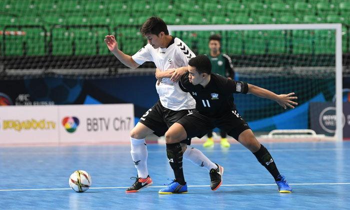 """ฟอร์มยังเฉียบ! """"โต๊ะเล็กไทย"""" ยำใหญ่ """"อัฟกานิสถาน"""" 8-1 ลิ่วน็อกเอาท์ U20 ชิงแชมป์เอเชีย"""