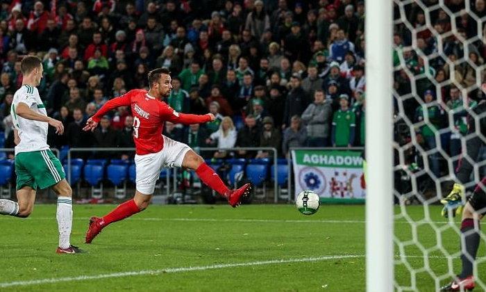 สวิส เสมอ ไอร์แลนด์เหนือ 0-0 ตีตั๋วลุยบอลโลก
