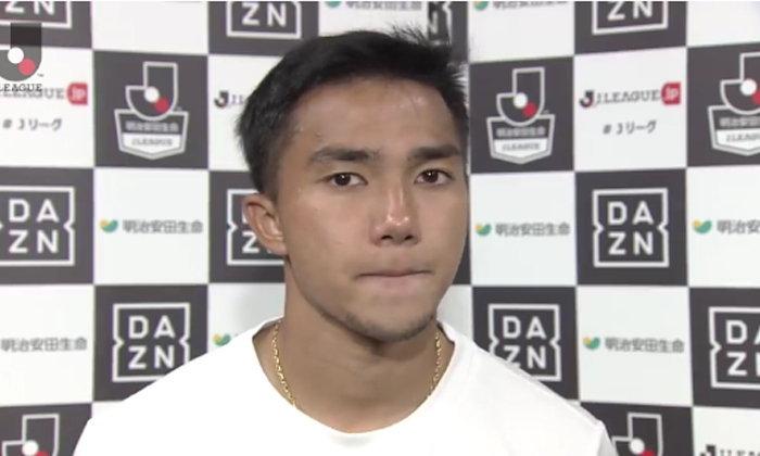 """สุดเสียใจ! """"ชนาธิป"""" น้ำตาซึมให้สัมภาษณ์สื่อญี่ปุ่น """"ผมยังไม่ดีพอ"""" (คลิป)"""