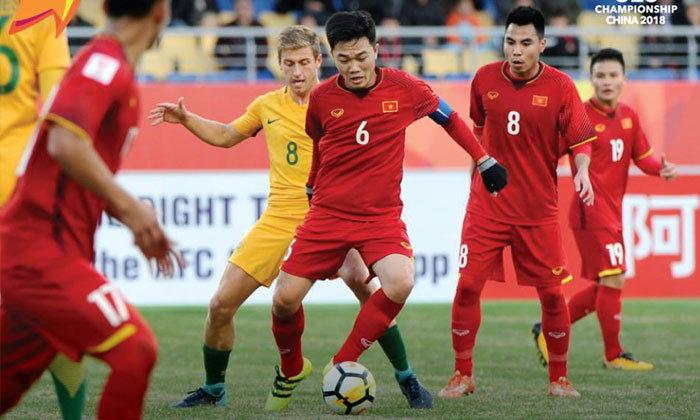 """ทีมแรกอาเซียน! """"เวียดนาม"""" เฉือน """"ออสซี่"""" 1-0 ชิงแชมป์เอเชีย ยู-23 (คลิป)"""