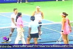แทมมี่ เข้ารอบรองฯ หญิงคู่ เทนนิสพัทยา โอเพ่น