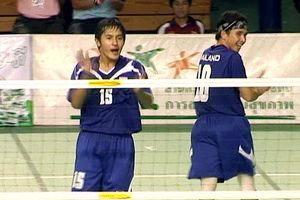 เจ๋ง! ตะกร้อไทยชายคู่-หญิงคู่คว้าแชมป์โลกมาครอง