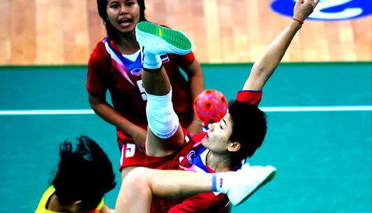 ตะกร้อสาวไทย เชือดเวียดนาม คว้าทองเอเชียนเกมส์