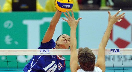 วอลเลย์บอลสาวไทย พลิกพ่ายโสมแดงตกรอบ8ทีม