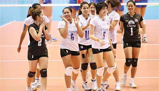 ชื่นชมทีมลูกยางสาวไทย