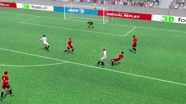 คลิปไฮไลท์ยูโร2012 3D โปแลนด์ ตีเสมอ รัสเซีย 1-1