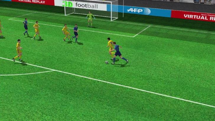 คลิปไฮไลท์ยูโร2012 3D ฝรั่งเศส นำ ยูเครน 1-0