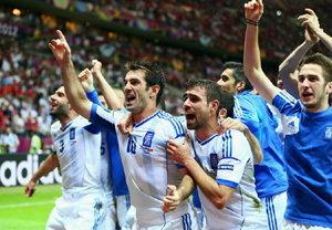 ประมวลภาพ กรีซ ชนะ รัสเซีย 1-0