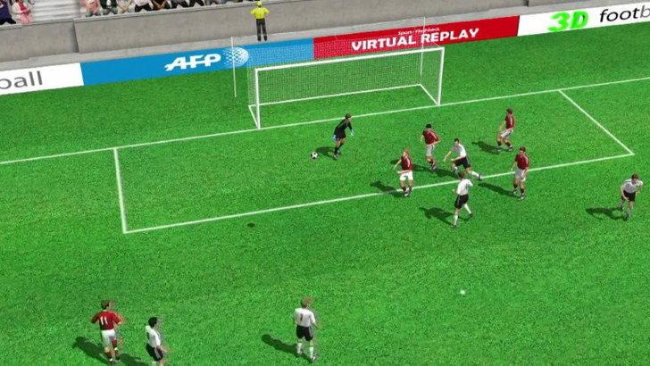 คลิป  เดนมาร์ก ตีเสมอ เยอรมัน 1-1