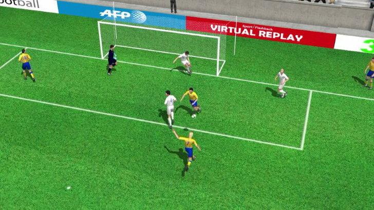 คลิป สวีเดน นำ ฝรั่งเศส 2-0