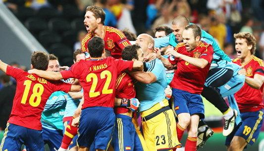 """ฤา สเปน จะเป็นแชมป์แบบ """"ไร้หัวหอก"""""""