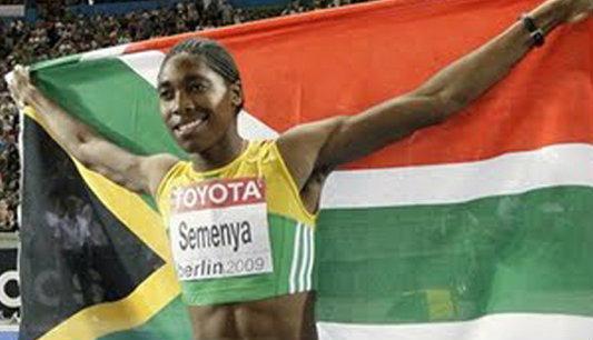 อดีตแชมป์โลกวิ่ง800ม.หญิงถือธงแอฟริกัน