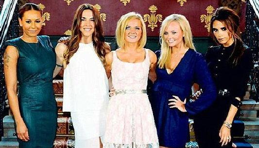 Spice Girls รวมกันเฉพาะกิจ ในกีฬาโอลิมปิก 2012