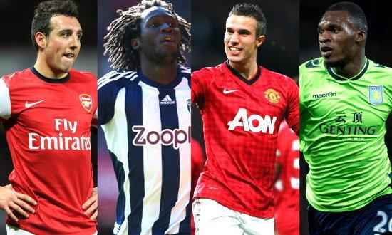 ทีมสุดคุ้ม พรีเมียร์ลีก อังกฤษ (EPL 2012-13)