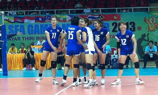 เปิดสวย!ลูกยางสาวไทยชนะมาเลเซีย 3-0 เซต