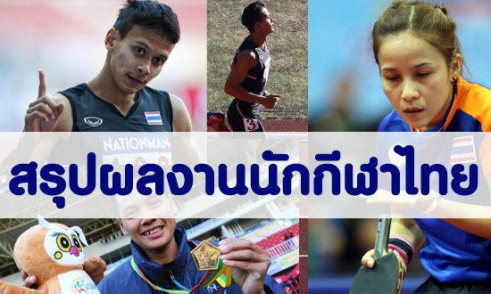 ผลงานนักกีฬาไทยในซีเกมส์ 18-12-13