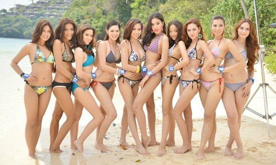 WoW! 20สาวงามมิสไทยแลนด์2013โชว์ชุดว่ายน้ำ