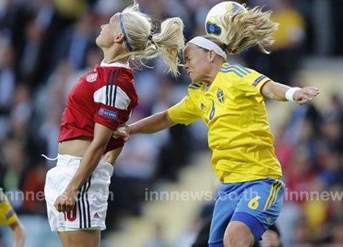 สวีเดนโหดยำฟินแลนด์5-0,อัซซูรี่สาวเฉือนหวิว