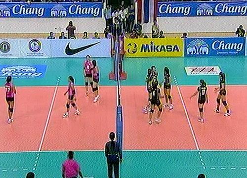 วอลเลย์สาวไทยชนะมองโกเลีย3-0เซต