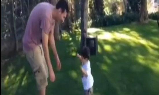เมสซี่ปลื้ม! ลูกวัย 10 เดือนวิ่งปร๋อ+คลิป