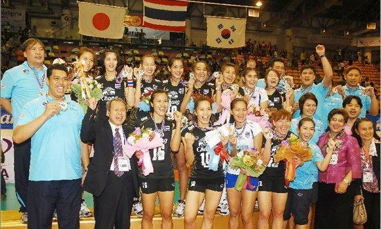 เยี่ยมยอด! สาวตบไทยขึ้นรั้งอันดับ12ของโลก
