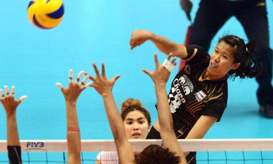 วอลเลย์บอลหญิงทีมชาติไทยชนะไต้หวัน 3-0 เซต ทะลุตัดเชือก