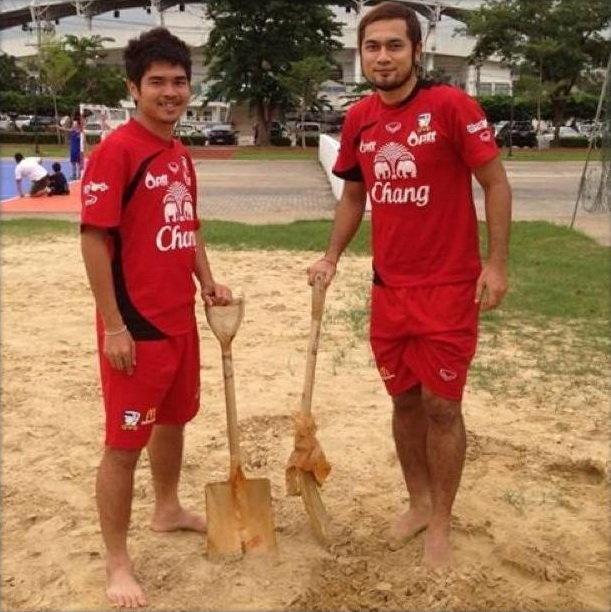 แข้งชายหาดเริ่มซ้อมเตรียมดวล4เส้าที่จีน
