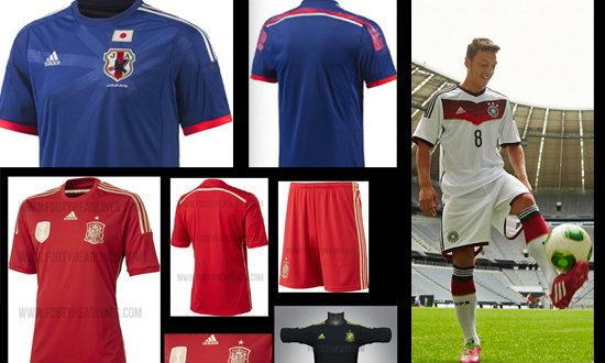 ส่องชุดทีมชาติโฉมใหม่ที่ได้ไปฟุตบอลโลก