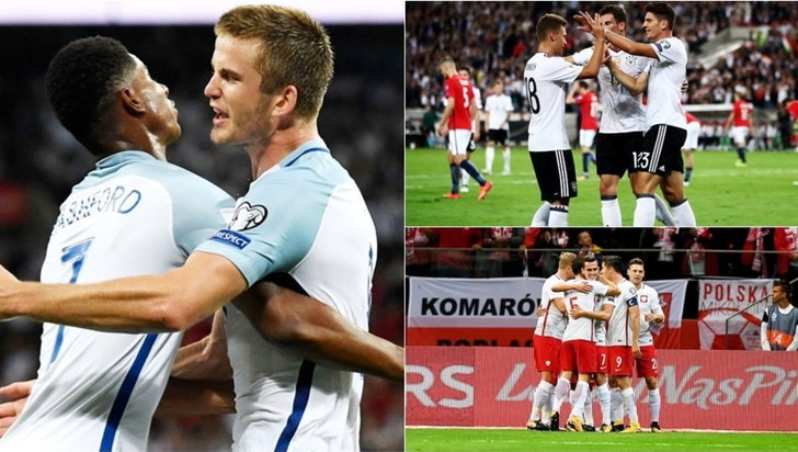 สรุปผลฟุตบอลโลก 2018 รอบคัดเลือก โซนยุโรป พร้อมตารางคะแนนล่าสุด