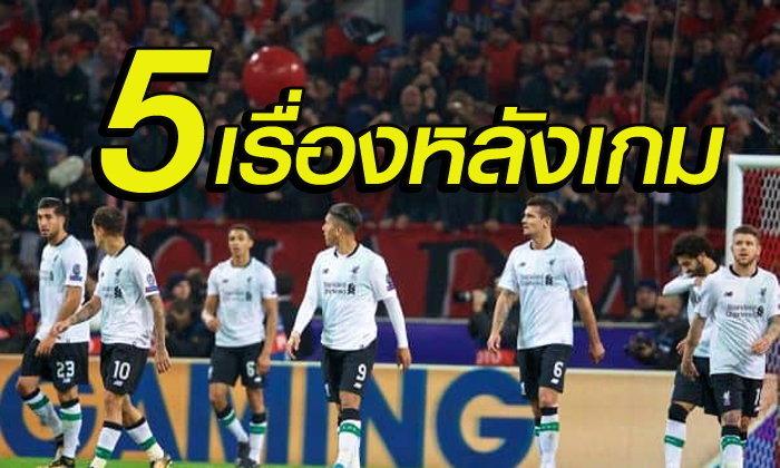 5 เรื่องต้องรู้ ! หลังเกม หงส์แดง บุกหนัก แต่เสมอ มอสโก สุดเซ็ง 1-1