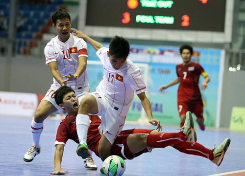 โต๊ะเล็กไทยเชือดเวียดนามนิ่ม4-0ซิวแชมป์กลุ่ม