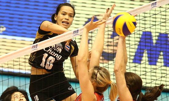 สู้สุดใจ! วอลเลย์บอลหญิงไทยแพ้อเมริกา