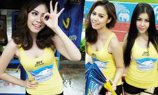 สาว3Kพริตตี้ตัวแรงฟุตบอลไทย